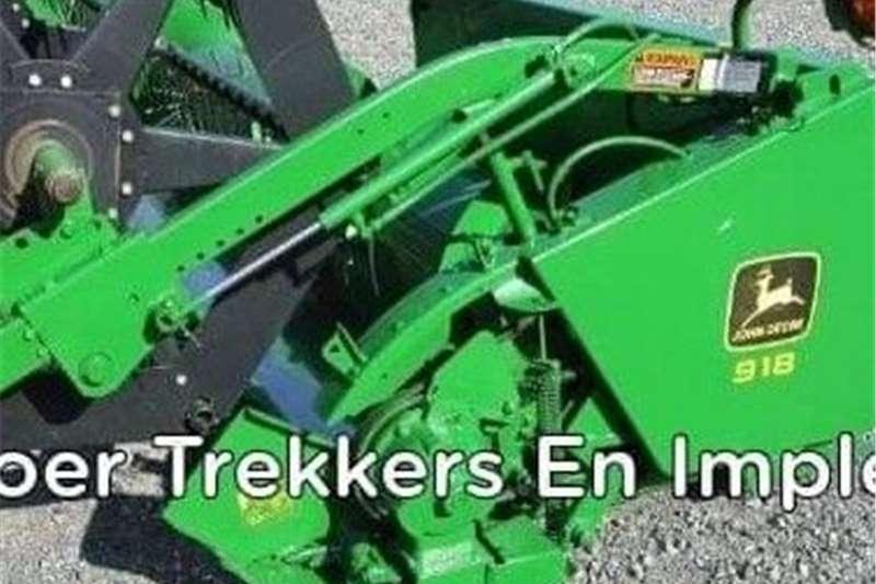 Threshers John Deere 918 Harvesting equipment