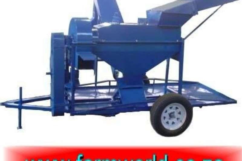Harvesting equipment Threshers S634 Blue Hippo Maize Thresher 11kW Electric With