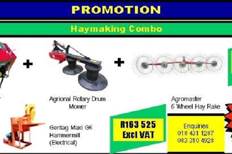 Hay and forage Other hay and forage PROMOTION HAYMAKING COMBO