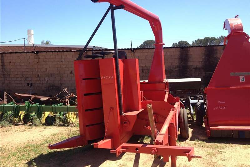 Other hay and forage S2558 Blue Unknown Make Voerstroper Pre Owned Impl Hay and forage