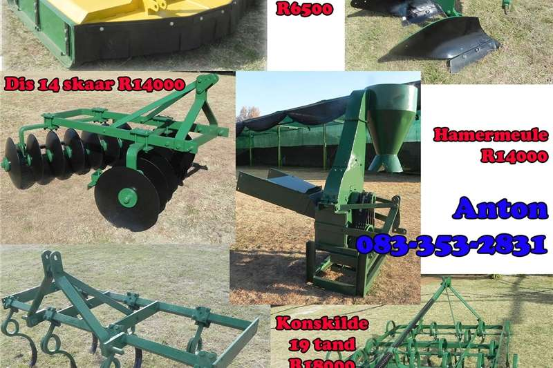 Hay and forage Slashers Farm implements for sale