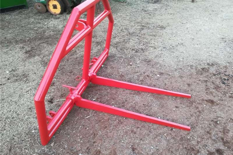 Haymaking and silage Bale handlers bale fork
