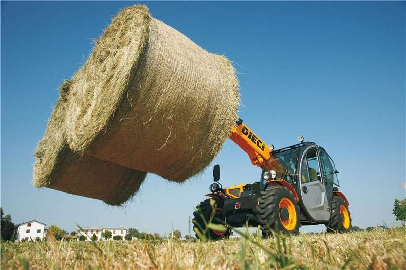 Haymaking and silage Bale handlers Dieci Agricultural Telehandlers