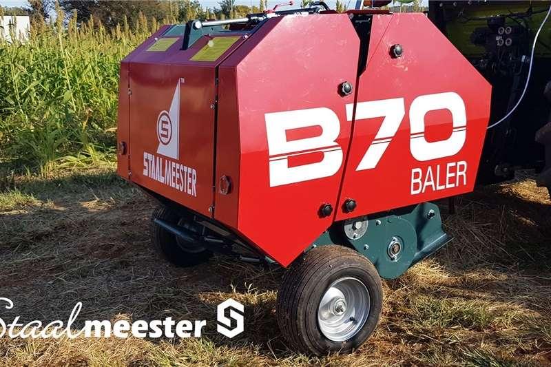 Bale handlers landbou landwyd   B70 Baler Haymaking and silage