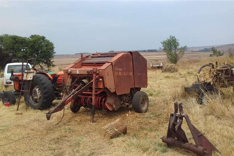 Haymaking and silage Bale handlers Welger RP 12 Bale machine for sale
