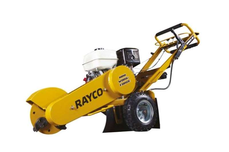 Haymaking and silage Bale shredders Rayco Rg 13 II Stump Grinder 2019