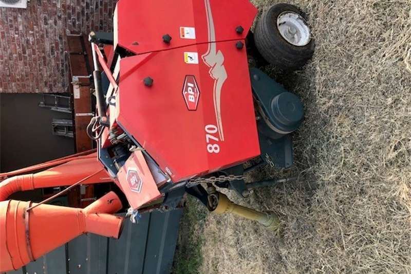 Haymaking and silage Baler for sale