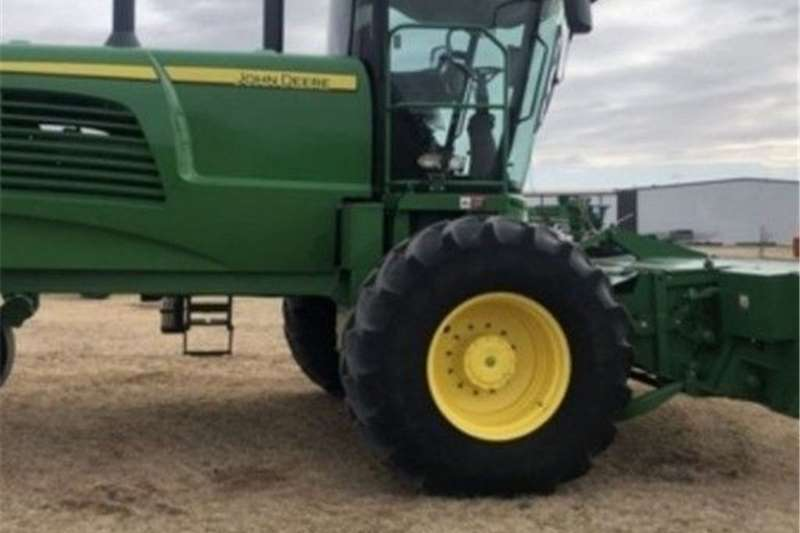 Hammer mills John Deere W235 Swather Haymaking and silage