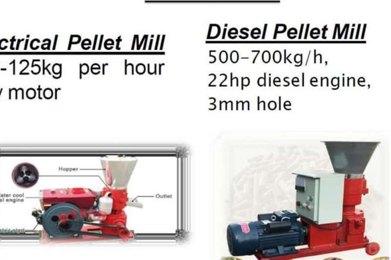 New 2.2kw Pellet Mill Haymaking and silage