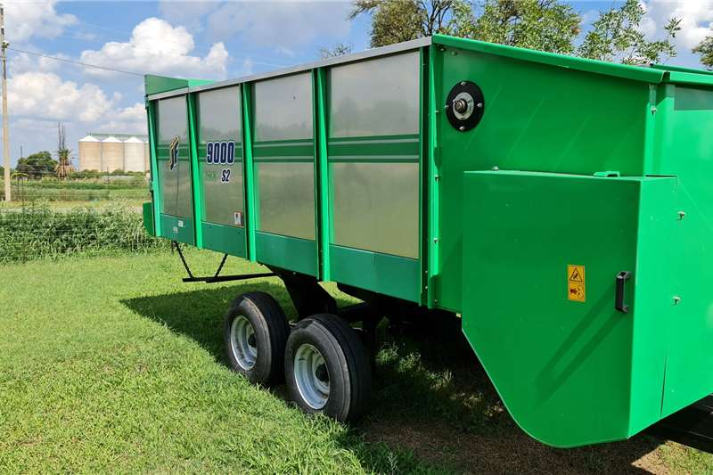 New JF Taurus silage wagons Haymaking and silage
