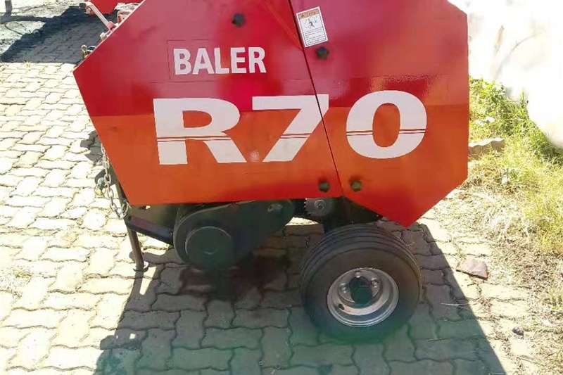 Haymaking and silage R70 ROUND BALER