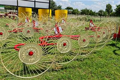 Rakes New Enorossi 5 wheel hay rakes Haymaking and silage