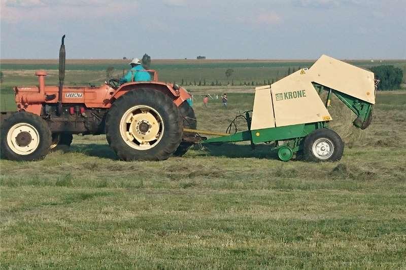 Haymaking and silage Round balers Krone 125/130 baler