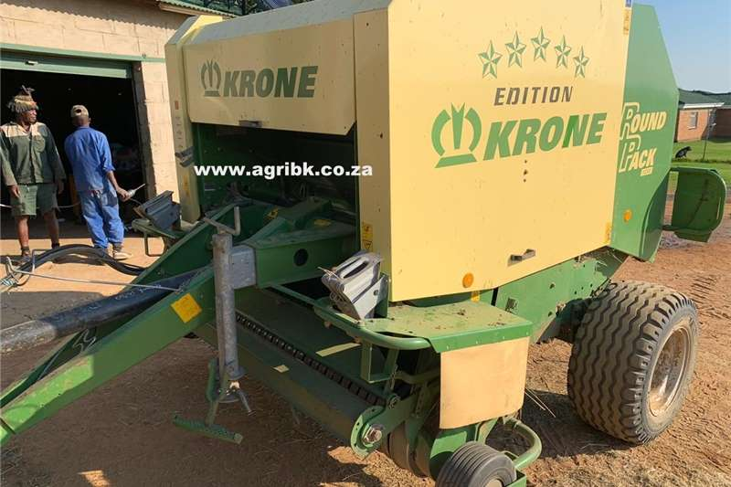 Haymaking and silage Round balers Krone 1250 2009