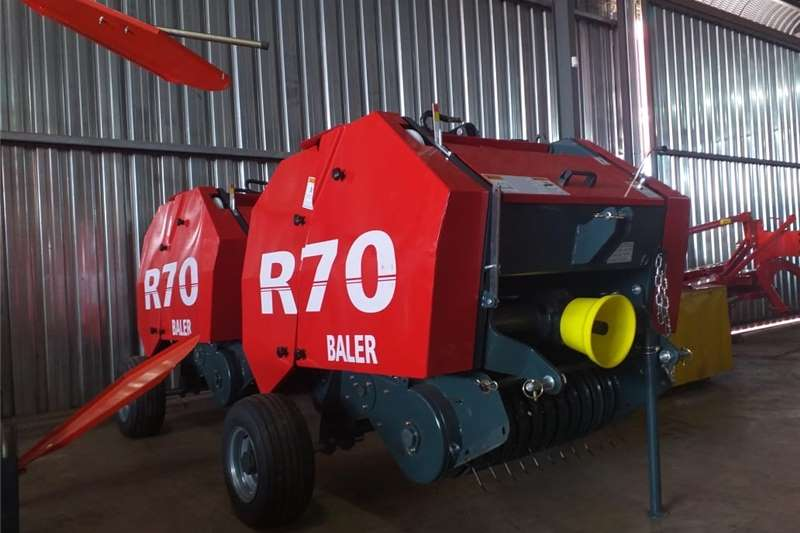 Haymaking and silage Round balers New Mini R70 Round Balers