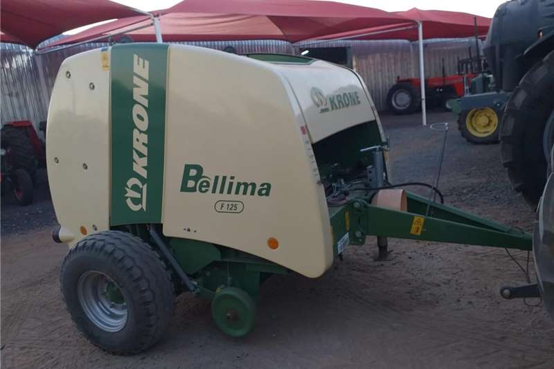 Haymaking and silage Round balers Special! Baler