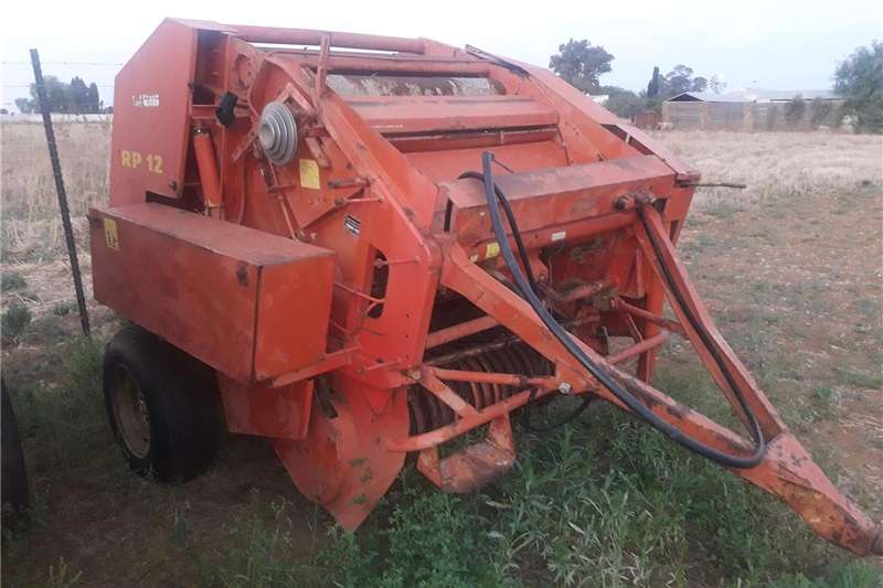 Haymaking and silage Round balers Welger RP12 round Baler