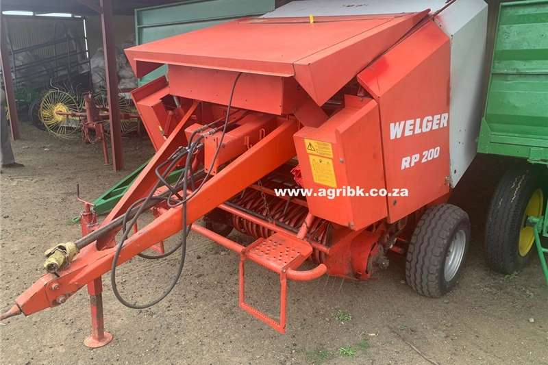 Haymaking and silage Round balers Welger RP200
