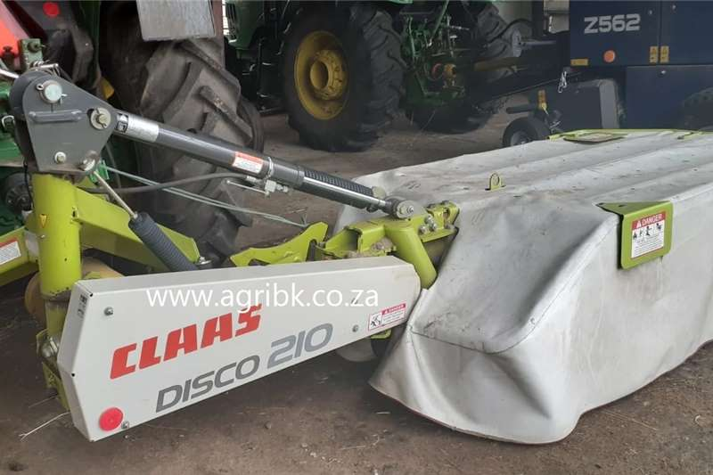 Slashers Claas Disco 210 Haymaking and silage