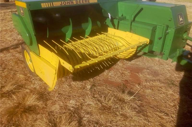 Haymaking and silage Square balers John Deere baler for sale