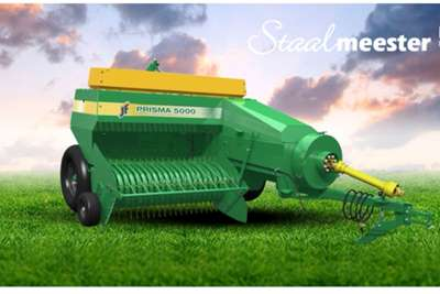 Square balers New JF Prisma 4000 square balers Haymaking and silage