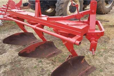 3 Furrow Beam Plough Ploeg Horticulture & crop management