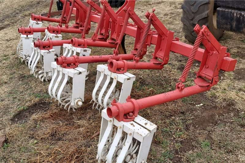 4 Row Crop Cultivator Rol Skoffel Horticulture & crop management