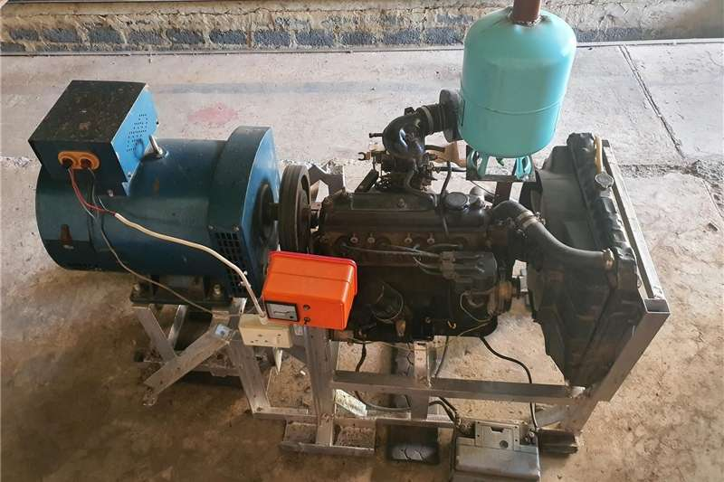 Industrial generator 24 KW single phase generator set
