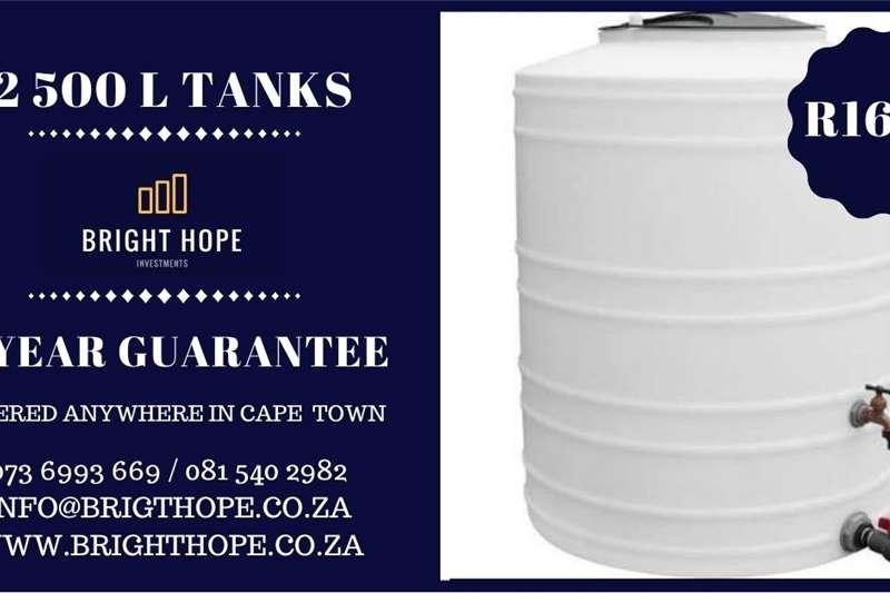 Automation 5000L WATER TANKS, 2500 L AND 1000L TANKS AVAILABL Irrigation