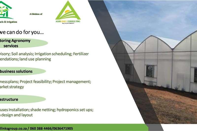 Automation Hydroponics Greenhouse tunnels Irrigation