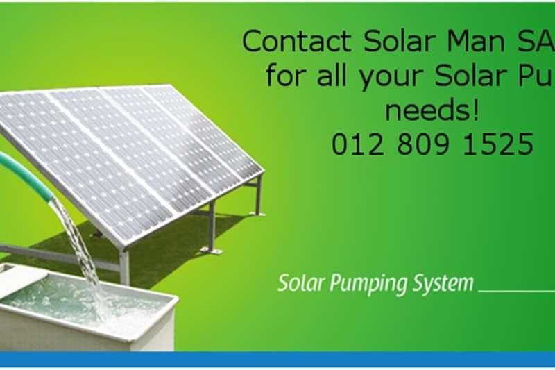 Irrigation pumps Complete solar panel pump kits for livestock water Irrigation