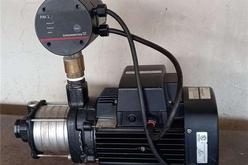 Irrigation pumps Grundfos booster pump in excellent condition.1.3kw Irrigation