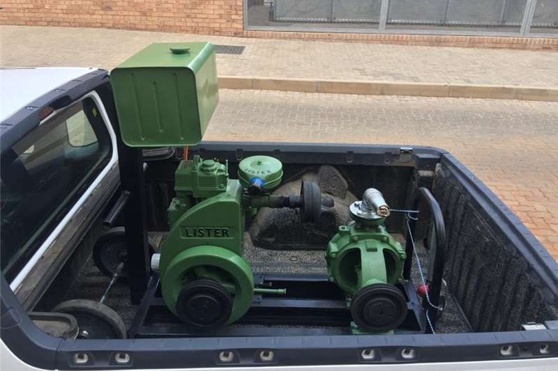 Irrigation Irrigation pumps LISTER (10,5hp) WITH PUMP AND SPRINKLER SYSTEM
