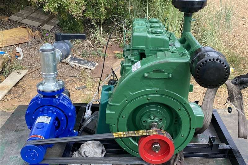Irrigation Irrigation pumps Lister 18hp diesel water pump set