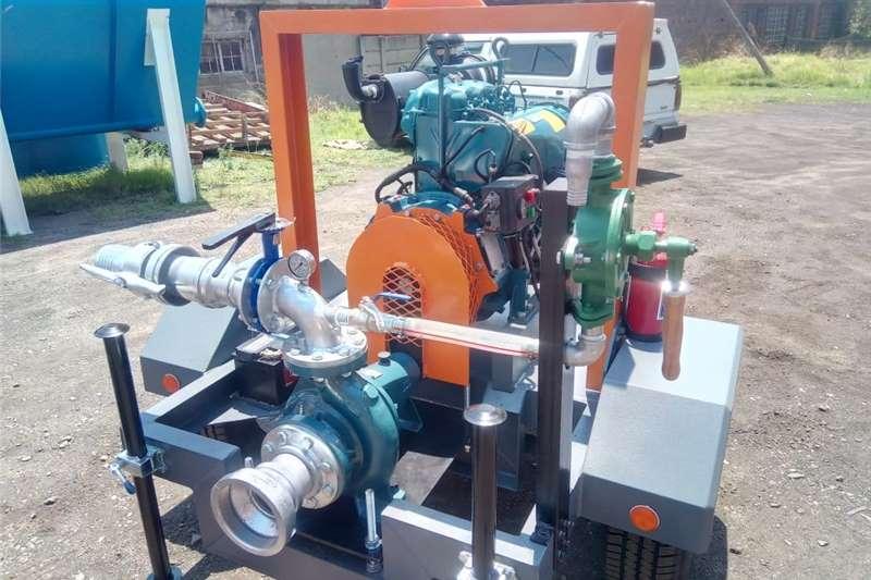 Irrigation pumps Mobile diesel pump. Water pump. Mobile water pump. Irrigation