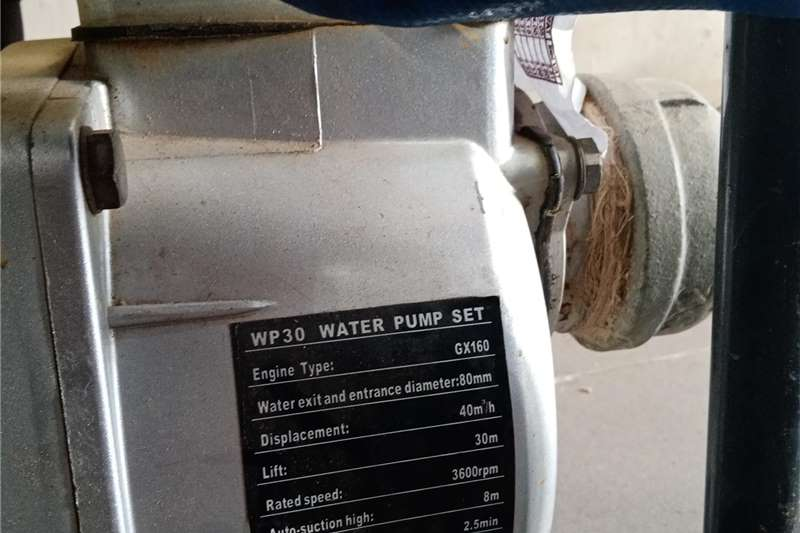 Irrigation pumps YOKOHAMA WATER PUMP SETT Irrigation