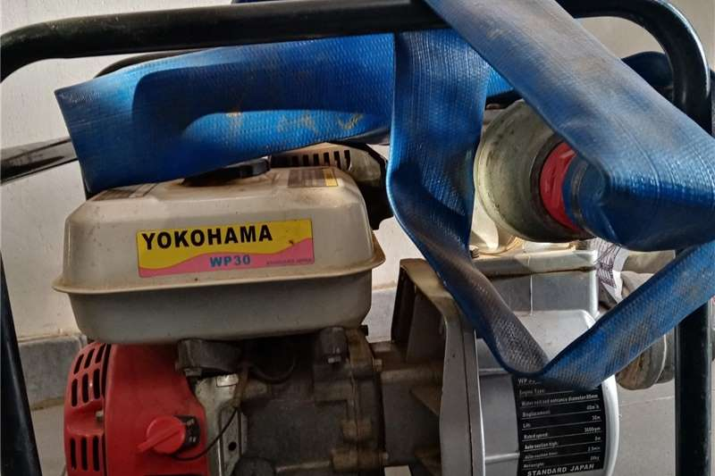 Irrigation pumps YOKOHAMA WP30. WATER PUMP SETT Irrigation