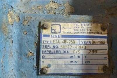 KSB Pump Irrigation