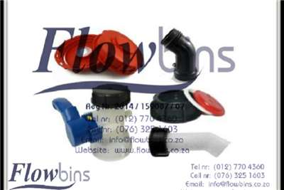 Pipes and fittings 1000L Flowbin tank Spares, Adaptors, Piping and Fi Irrigation