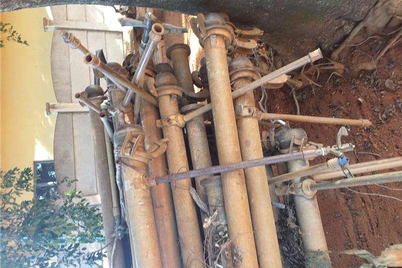 Pipes and fittings 4 duim besproeiengs pype te koop Bauer Irrigation