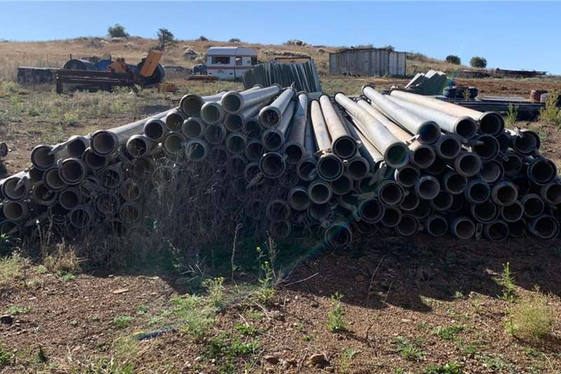 Pipes and fittings 6m x 150mm Gou Koppel Besproeiings / Water Pype Irrigation