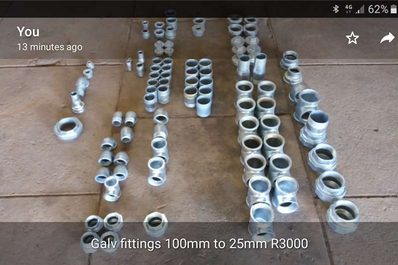 Irrigation Pipes and fittings Galvanized fittings
