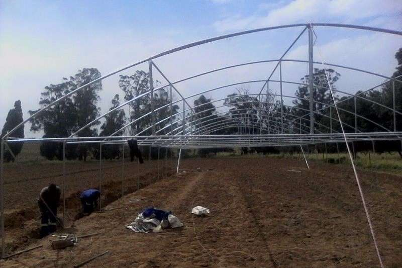 Irrigation Pipes and fittings Greenhouse Zeerust   , Vegetable Tunnels call 0623