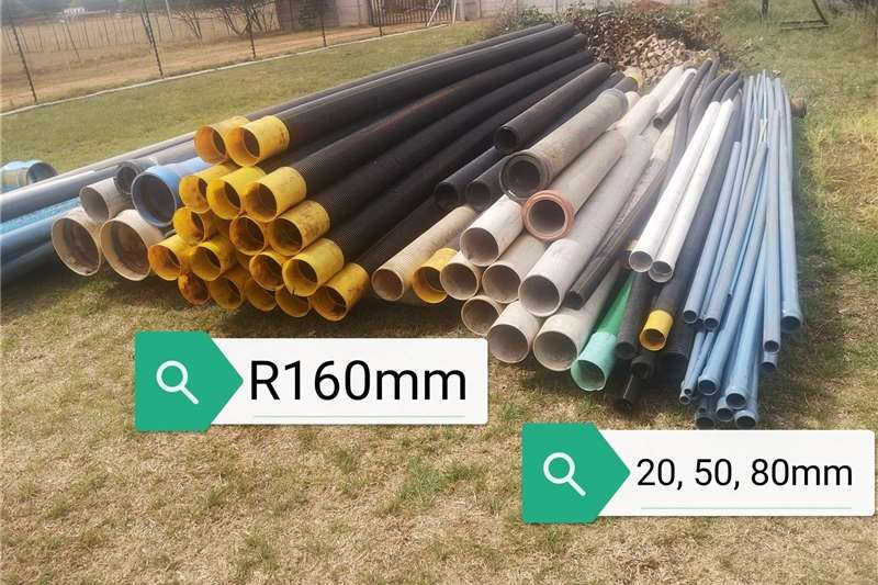 Pipes and fittings Pipes and fittings Irrigation