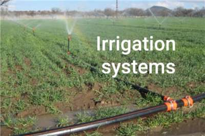 Sprinklers and pivots AC / DC Irrigation System Irrigation