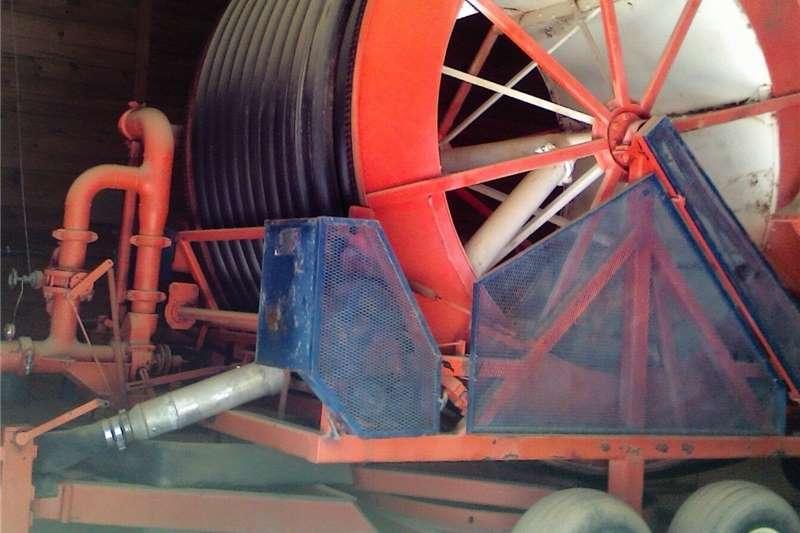 Irrigation Sprinklers and pivots Hard hose irrigation reel Hobbs 2400 Amadas