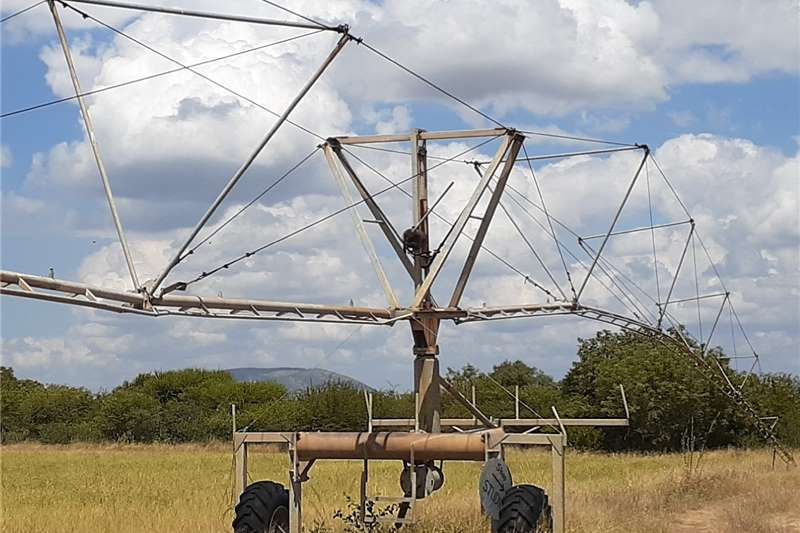 Sprinklers and pivots Irrigation centre pivots x 2,working condition.one Irrigation