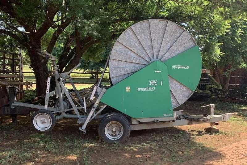 Irrigation Sprinklers and pivots Traveling irrigator