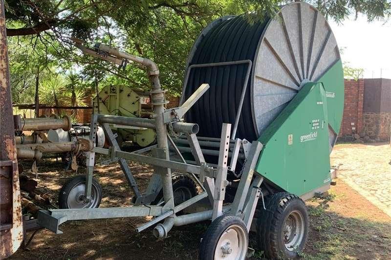 Sprinklers and pivots Traveling irrigator Irrigation