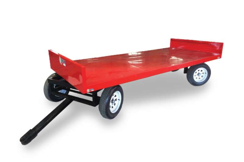 JBH Agri Carts and wagons 3.6 M TWIN TURNTABLE CRATE CART   1.45M WIDE Agricultural trailers